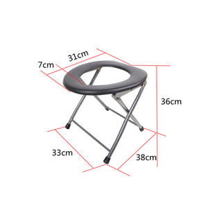 Folding Baby Potty pregnant woman Toilet Training Seat Travel Camping Outdoors Metal Portable Potty Toilet Seat for Kids Old Man