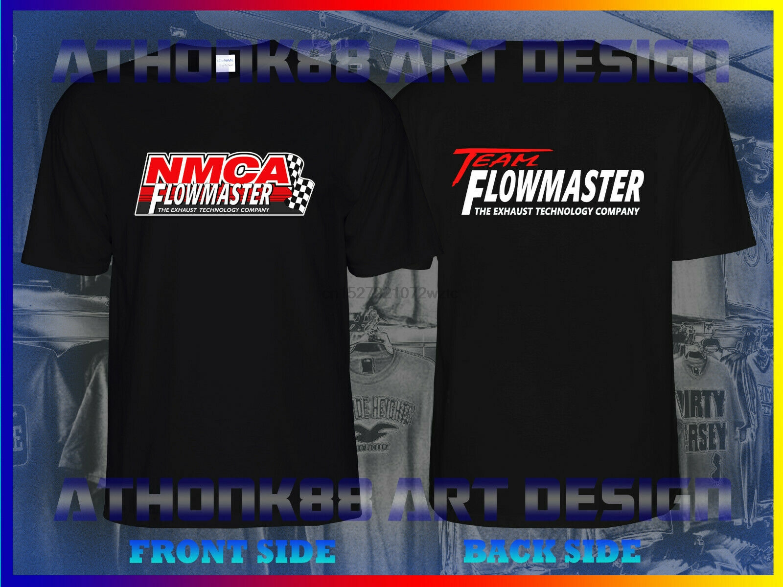 NATIONAL MUSCLE CARS FLOWMASTER T-SHIRT