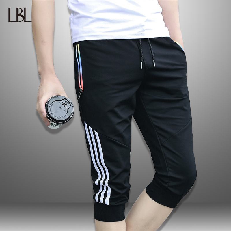 LBL Striped Shorts Men Summer Casual Men's Beach Shorts Sportswear Short Sweatpants Jogger Breathable Trousers Boardshorts Man