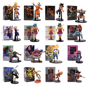 Dragon Ball Z SCultures Big Budoukai Series Action Figure Goku Buu Piccolo Burdock Trunks Broly Frieza Gohan Collection Model