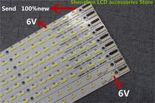 10 أجزاء/وحدة V390HK1 LS5 TREM4 TREM1 ل هايسنس LE39A720 LED39K300J 4A D074762 LE39A700K 495 مللي متر 48LED 100% جديد