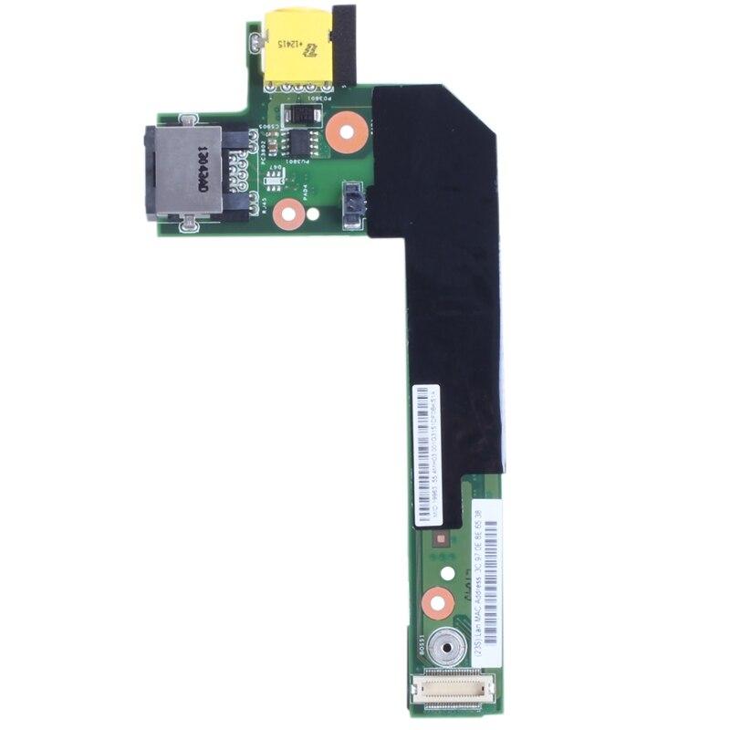 New Lenovo Thinkpad Edge E420 E425 E520 E525 DC-In Sub Jack LAN Board Card