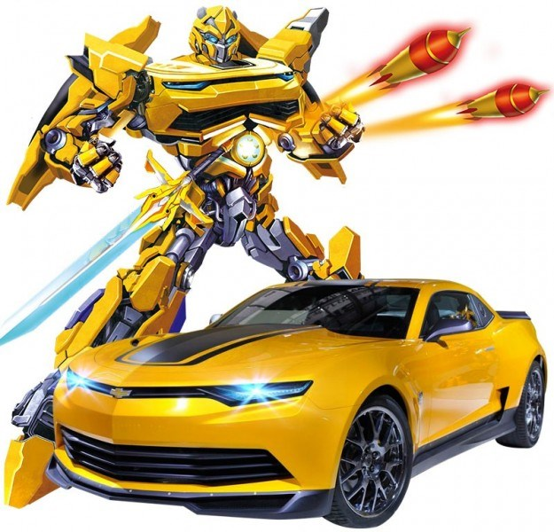 RC Transformer MZ Chevrolet Camaro 1:14-2367PF
