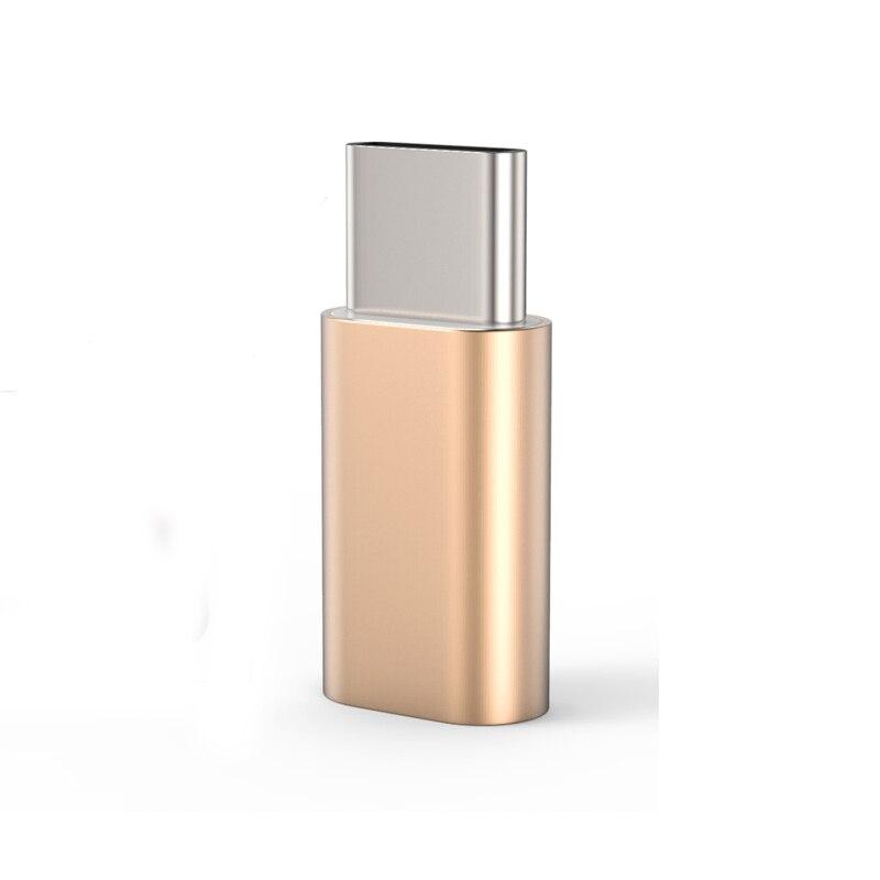 Metal Type-C 3.1 To Micro USB Adapter For OnePlus 2 3 3T Huawei P9 Plus Lenovo ZUK Z1 Z2 Nexus 5X 6P Meizu Pro 6 Xiaomi Mi5 Mi4c