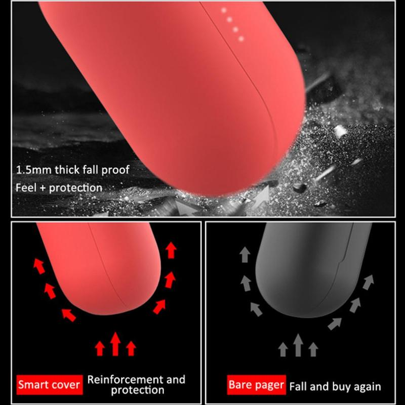Silicone Case Cover Earphone Pouch Dust-proof Protective Thin Protector GT1 For Haylou pro Eartips Case