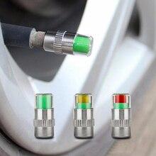 Monitor de presión de neumáticos, indicador de alerta del Sensor, Kit de herramientas de tapón para vástago de válvula, 2,0/2,2/2,4 Bar 30/32/36 PSI