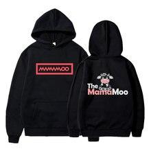 Модная Толстовка mamamoo с принтом для женщин и мужчин толстовка