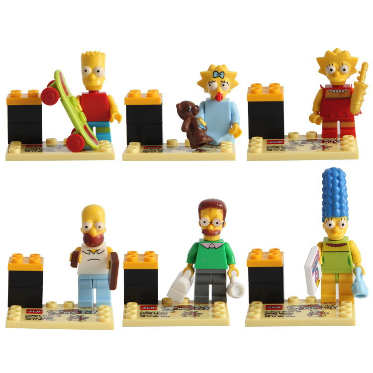 JLB Simpson Building Blocks 3D9901-06 Assembled Building Blocks Children's Educational Toys Wholesale Direct Factory Price