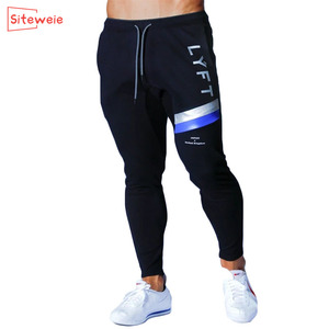 SITEWEIE Jogging Pants Men Sport Sweatpants Running GYM Pants Joggers Cotton Trackpants Slim Fit Pants Bodybuilding Trouser G248