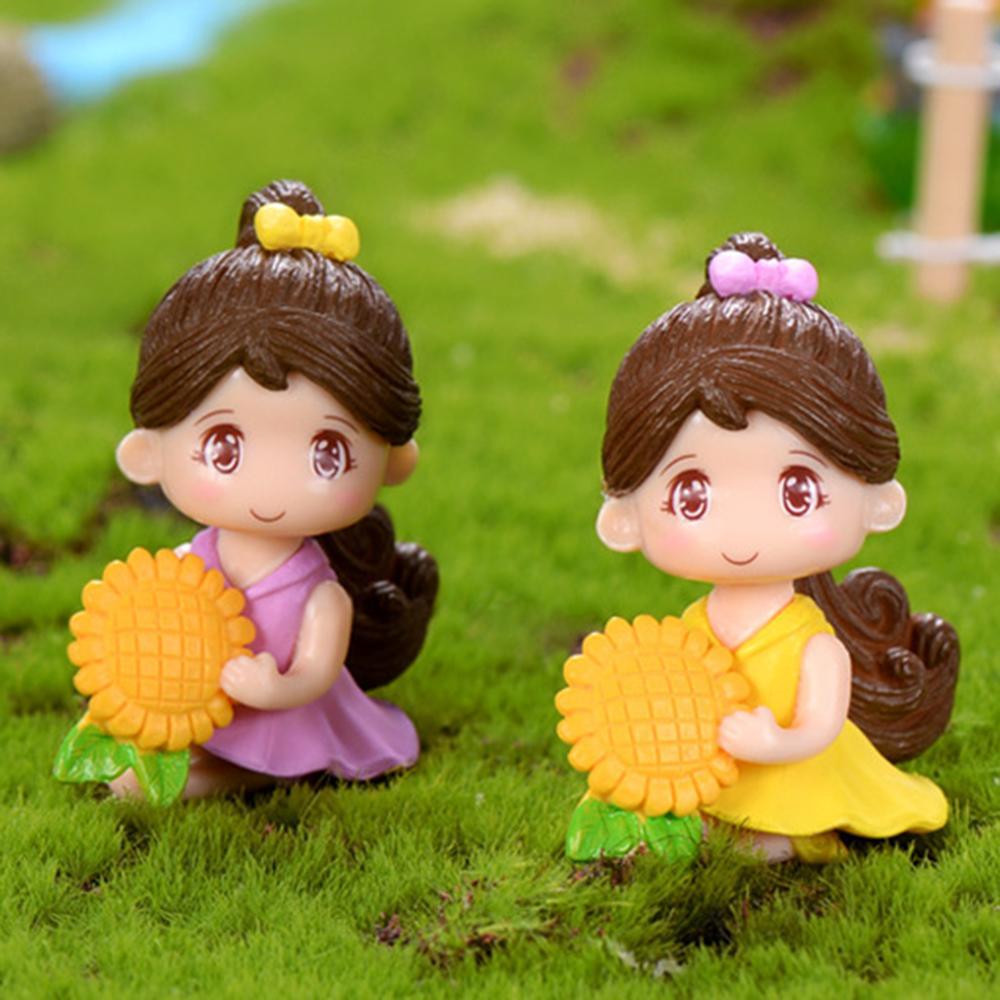 Pot de fleurs bricolage Miniature 3 pièces | Artisanat de bonsaï, Micro paysage, décoration de jardin féerique Miniature, Pot décoratif de jardin