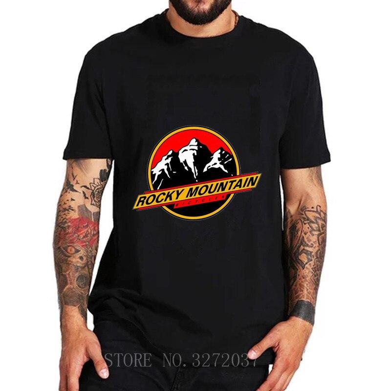 2019 Digital Printing T-Shirt Men Rocky Mountain Clothing Rider Tees Shirts Adult Camisetas Tops Plus Size