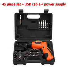 4.2V Screwdriver Electric Hand Drill Lithium Battery USB Rechargeable Electric Hammer Drill Electric Screwdriver Cordless Drill