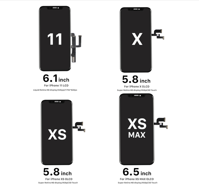 For iphone 11 OEM lcd display screen