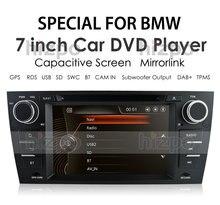 Автомобильный DVD-плеер, радио, GPS-навигация для BMW 3 E90 E91 E92 E93 2006-2012 2009 Bluetooth RDS BT DAB + TPMS SD USB EQ Mirror Link