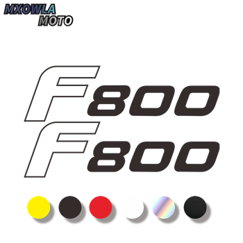 Motorcycle whees rims lhelmet Body Shell Tank Pad Fairing Reflective Decals waterproof Stickers for bmw f800gs image