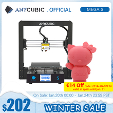 3d-Printer Touch-Screen ANYCUBIC Mega-Upgrade DIY High-Precision Impressora Large-Size