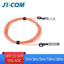 1M/3M/5M/10M/30M Sfp + 10Gb Aoc Sfp module 10G 30 Meter Actieve Optische Kabel Compatibel Met Cisco Netwerk Switch Gratis Verzending