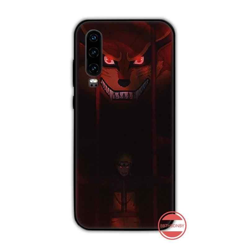 Naruto Kakashi Sasuke japonya Anime telefon kılıfı kapak gövde Huawei Y5 Y6 II Y7 Y9 başbakan 2018 2019 NOVA3E p20 PRO P10 onur 10