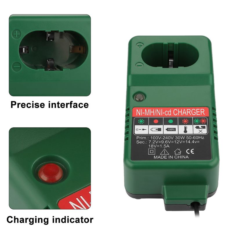 7 2V-18V Battery Charger Adapter for Makita 7 2V 9 6V 12V 14 4V 18V NI-MH NI-CD