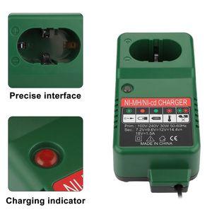 Image 1 - 7.2V 18V Battery Charger Adapter for Makita 7.2V 9.6V 12V 14.4V 18V NI MH NI CD