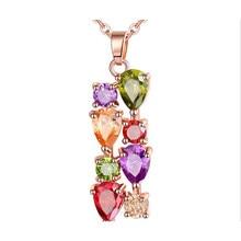 Bettyue – collier multicolore délicat pour femmes, Style Monalisa, avec Zircon cubique AAA, pour tenue de soirée, nouvelle collection