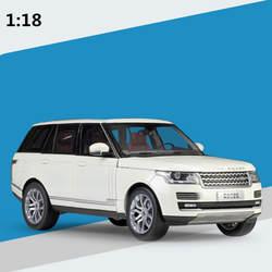 1:18 усовершенствованная модель автомобиля из сплава, высокая имитация Range Rover Коллекция Модель литая металлическая модель игрушечного