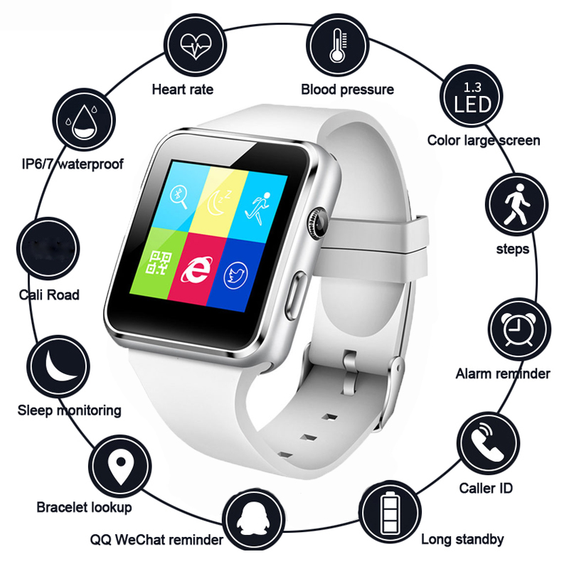 Watch-Support Smart-Watch Whatsapp Portable Hot SIM for iPhone Millet Tf-Card Multi-Language