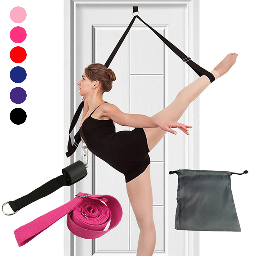 Door Flexibility Stretching Leg Stretcher Strap for Ballet Cheer Dance Gymnastics Trainer Yoga Flexibility Leg Stretch belt#g3|Yoga Belts|   - AliExpress