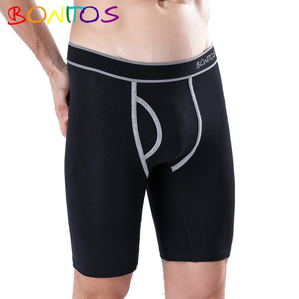 Boxer boxer confortável boxershorts homens cuecas masculinas de algodão shorts de marca macia mais tamanho