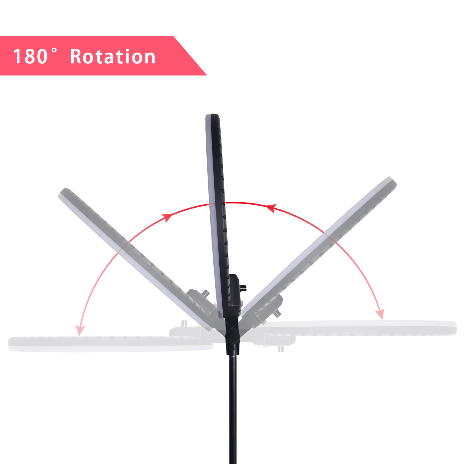 Fosoto 18 Inch LED Ring Light 8