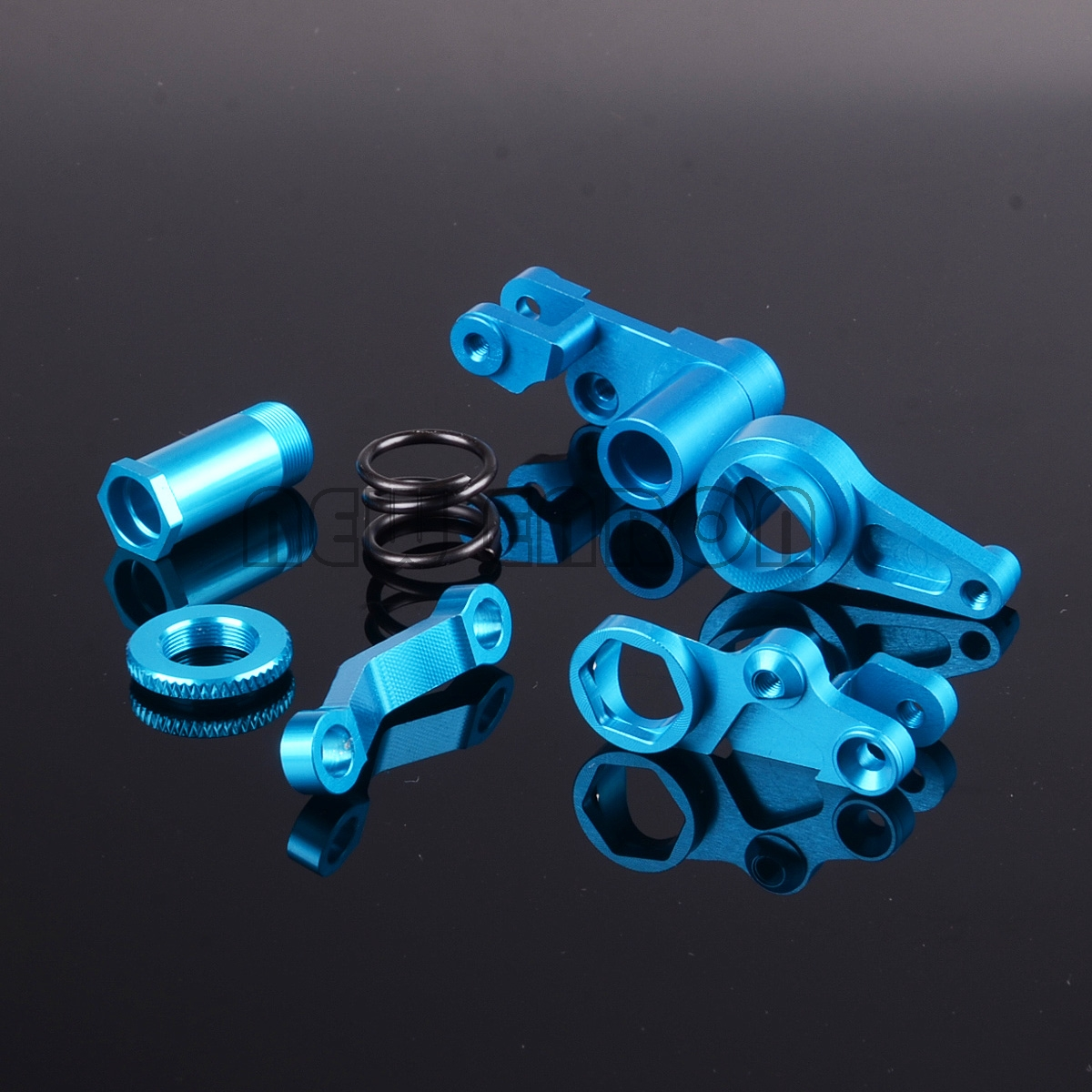 NEW ENRON #6845X Alloy Steering Bellcranks Servo Saver Set For RC Traxxas 1/10 Slash 4x4 Rustler Stampede XO-1 Upgrade Parts