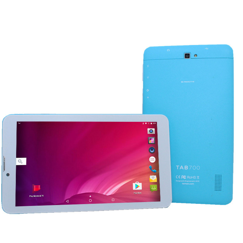 7 Inch LF705 4G LTE Tablet PC MTK8735 Quad Core Android6.0  1GB 8GB WIFI Bluetooth1024x600 HD IPS Screen  Kids Pc  Phone Call