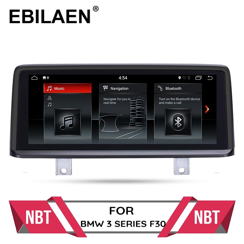 Car Multimedia Player For BMW F30 F20 F31 F34  F21 F32 F33 F36 Original NBT System Android 10.0 Autoradio GPS Navigation IPS 4G