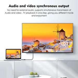 Image 5 - Wavlink 1080 p displayport hdmi 어댑터 dp hdmi 변환기 4 k 2 k @ 60 hz 지원 비디오 오디오 pc 노트북 hd 프로젝터