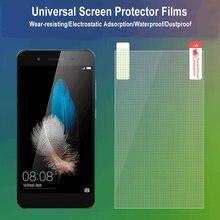 10 шт., размер: 4/5/6/7/8/9 дюймов Универсальный решетки матовый прозрачный Экран) класса-premium на Экран Защитная пленка для экрана Iphone huawei oppo телефон