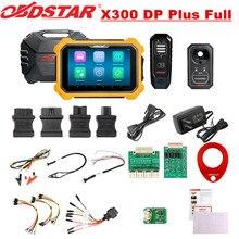 OBDSTAR X300 DP artı X300 PAD2 C paket tam sürüm desteği ECU programlama ve Toyota için akıllı anahtar ile P001 programcı RFID