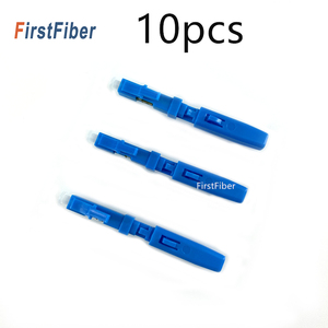 Image 5 - 10PCS LC UPC Snelle Connector single mode glasvezel quick connector LC Embedded type FTTH Glasvezel Snelle connector