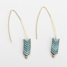 Gold Vintage Rock Punk Drop Earrings for Women Dangle korean Simple Long statement Earings Minimalist Girls Fashion Jewelry 2020