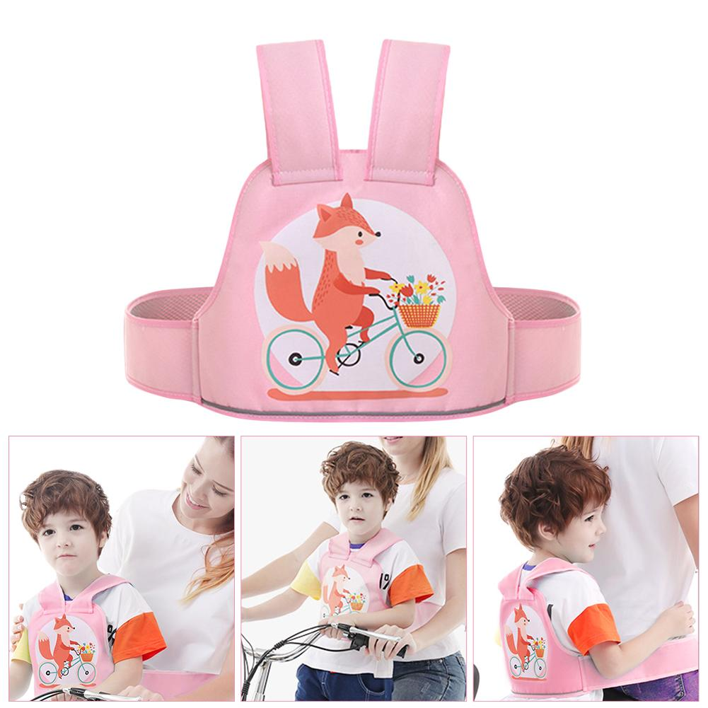 Children Motorcycle Safety Belt With Reflective Strip Adjustable Comfortable Scooter Bicycles Safety Strap Seats Belt Harness