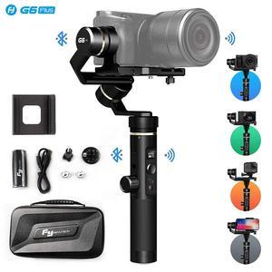 Feiyutech G6 Plus микро одиночный стабилизатор стабильный ручной карданный стабилизатор 3-осевой Совместимый телефон GoPro Фокусирующая камера, поле...