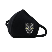 Movie Black Panther Mouth Face Mask Dustproof Breathable Facial Protective Cute woman man Cartoon Mouth Cover Masks
