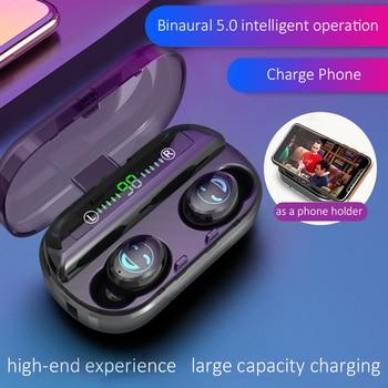 Bluetooth 5.0 Earphone TWS Wireless Noise Canceling Headphone Handsfree Earphones Music Sport Earbud