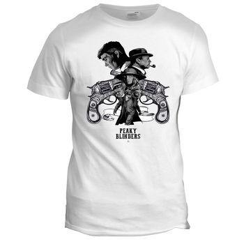Peaky Blinders Inspired Movie TV Film Series 80s 90s Crime Mens Mafia T Shirt