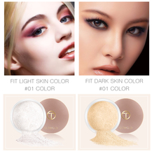 O.TWO.O Smooth Matte Loose Powder Makeup Transparent Finishing Powder Waterproof For Face Finish Setting With Cosmetic Puff недорого