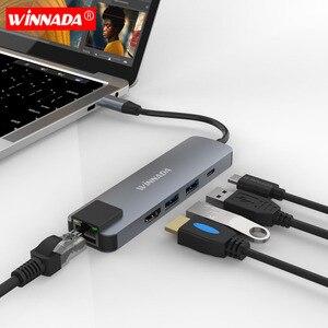 5 in 1 Type C Hub To HDMI Adap