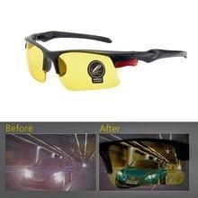 Lunettes de soleil polarisées Anti-éblouissement, pour la conduite, Vision nocturne, accessoires d'intérieur, engrenages de protection, 1 pièces
