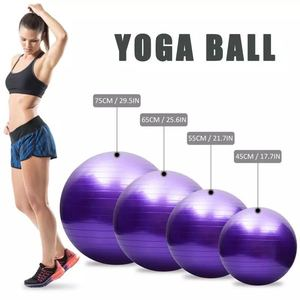 Fitness gym pilates balance massage fitball ball Exercise PVC sport workout ball Women home yoga ball equipment