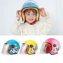 Four Seasons Cartoon Children Motorcycle Motocross Helmet Motorbike MOTO Warm