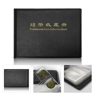 1 Pcs Coin Collection Book 240 Album Coin Penny Money Collecting Folder Holder Plastic Versatile And Practical Fuor Color