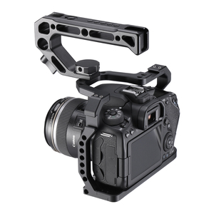 Image 1 - UURig Aluminium Camera Cage for Canon EOS 90D/80D/70D with Cold Shoe Mount Arri Hole 1/4 3/8 Screw To Microphone Monitor LED